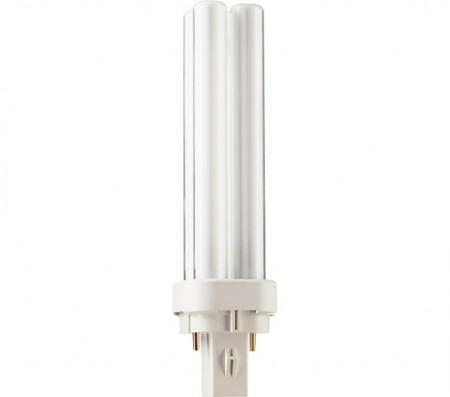 Kompakt lysrør D, G24d, 2 Pin