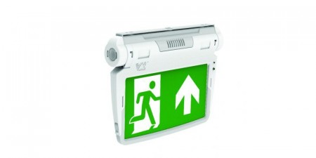 Led emergency  3W.  6 in 1 Exit Sign. 6500K