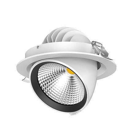 LED Downlight 33W 18 cm. 3500 Lumen. RA>80  5 års Garanti.