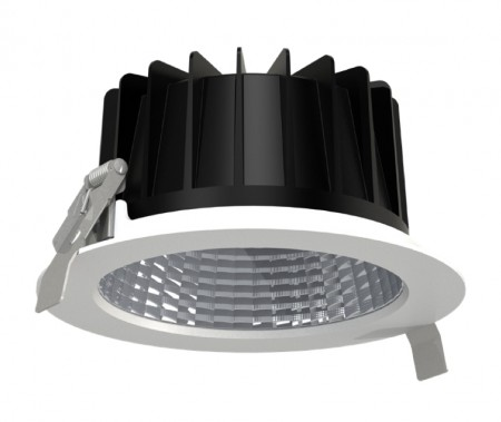 LED Downlight 18W 17,2 cm. 2000 Lumen. RA>80  5 års Garanti.