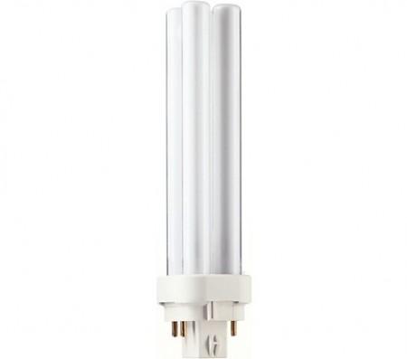 Kompakt lysrør D/E, G24, 4 Pin